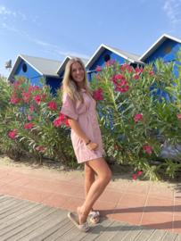 Blouse jurk rosé - Wendy