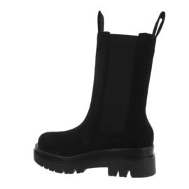 Boots Chelsea zwart suede