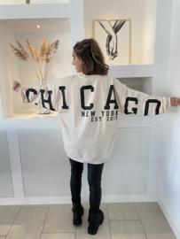 Chicago trui beige - Kyra
