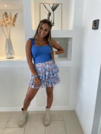 Top blauw - Mandy
