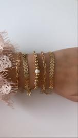 Armband goud  (5-delig)