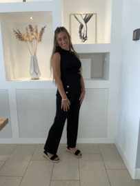 Comfy pak zwart Sylvie (2-delig)