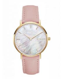 Horloge donkerroze