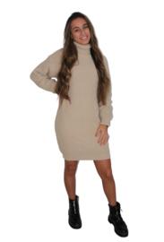 Coltrui  jurk beige