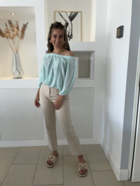 Mint top  - Chasey