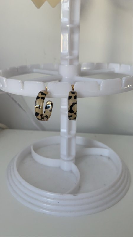 Oorbellen luipaard