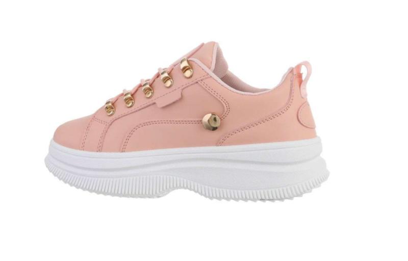 Sneakers roze goud