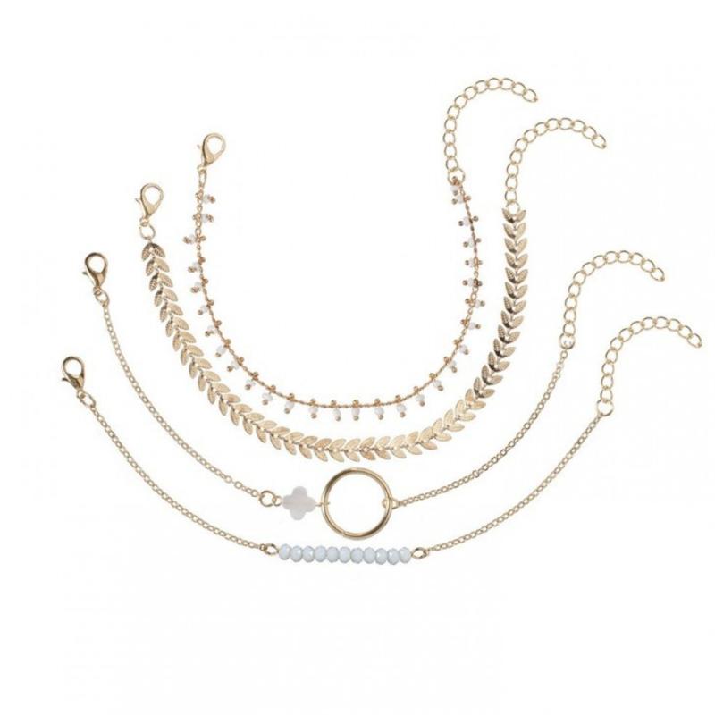 Armband goud (4-delig)