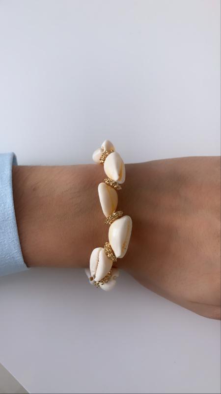 Armband schelpen