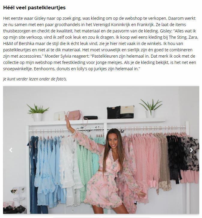 dottig.com meisjes feestjurken en trendy casual