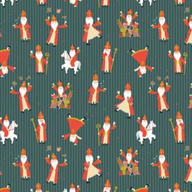 Lenige Sinterklaas - Donkergroen - 50 cm