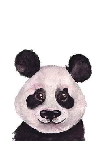 Ansichtkaart  A6 - Panda