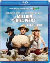 A million ways to die in the west ex-rental (blu-ray tweedehands film)