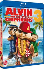 Alvin and the chipmunks 3 ex-rental (blu-ray tweedehands film)