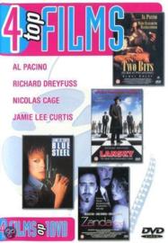 4 films op 1 dvd two bits-Lansky-Blue Steel - Zandalee (dvd tweedehands film)
