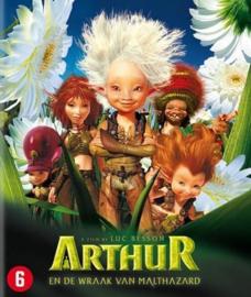 Arthur en de wraak van Malthazard losse disc (blu-ray tweedehands film)