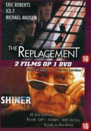 2-pack The Replacement en Shiner (dvd tweedehands film)
