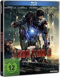 Iron Man 3 steelbook import (blu-ray nieuw)