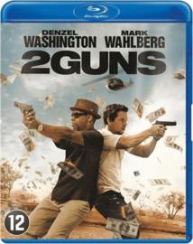 2 guns ex-rental (blu-ray tweedehands film)