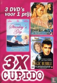 3X Cupido 3 films op 1 dvd (dvd nieuw)