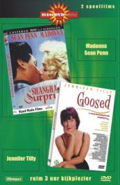 Big dvd collection Shanghai Suprise en Goosed (dvd tweedehands film)
