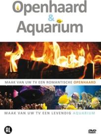 Openhaard en Aquarium (dvd nieuw)