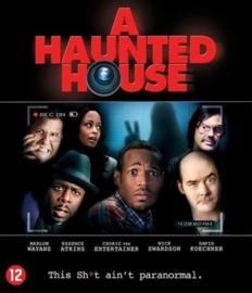 A haunted house ex-rental (blu-ray tweedehands film)