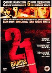 21 grams (dvd nieuw)