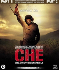 CHE part 1 and 2 (blu-ray nieuw)