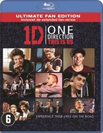1D One Direction This is Us ex-rental (blu-ray tweedehands film)