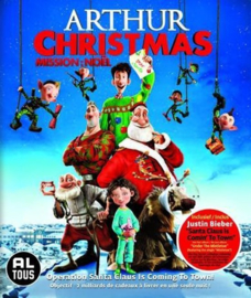 Arthur Christmas ex-rental (blu-ray tweedehands film)