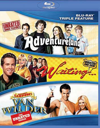 Adventureland Waiting en van Wilder 3-box set (blu-ray tweedehands film)