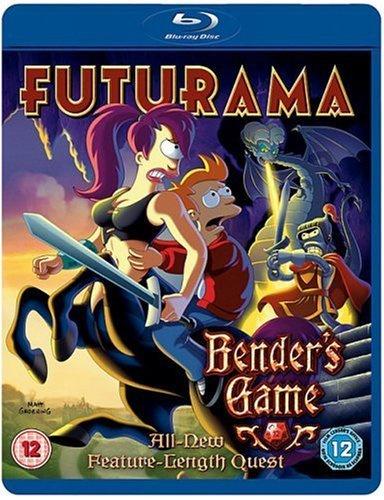 Futurama Benders Game (blu-ray tweedehands film)