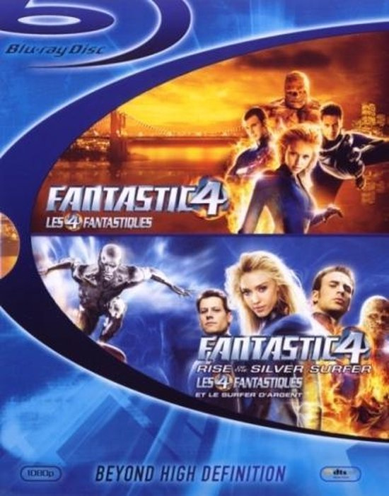 Fantastic four plus rise of the Silver surfer import (blu-ray tweedehands film)