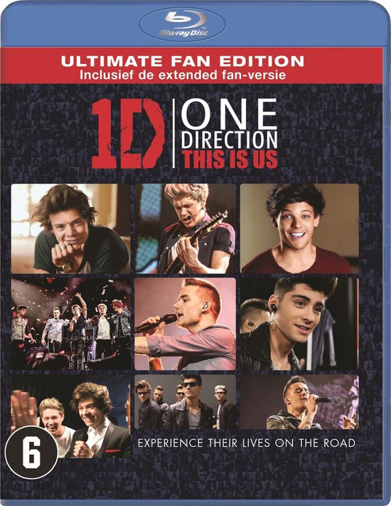 1D One Direction This is Us (blu-ray tweedehands film)