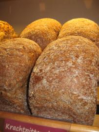 Krachtpitter desem brood gesneden