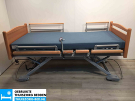 VOLKER 35A ELEKTRISCH LAAG LAAG (23 cm LAAG)  THUISZORG-BED MET ZITFUNCTIE
