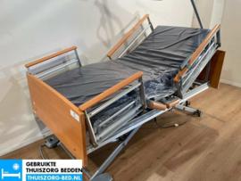 VOLKER 40A ELEKTRISCH LAAG LAAG (24 cm LAAG)  THUISZORG-BED MET ZITFUNCTIE