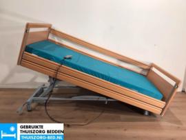 BOCK 81 ELEKTRISCH  LAAG (28 cm LAAG)  THUISZORG-BED MET ZITFUNCTIE