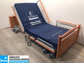 VOLKER 34 ELEKTRISCH LAAG LAAG (23 cm LAAG)  THUISZORG-BED MET ZITFUNCTIE