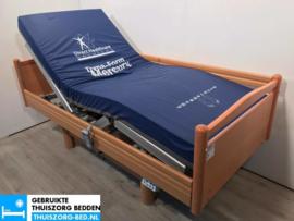 VOLKER 38B ELEKTRISCH HOOG LAAG THUISZORG-BED MET ZITFUNCTIE
