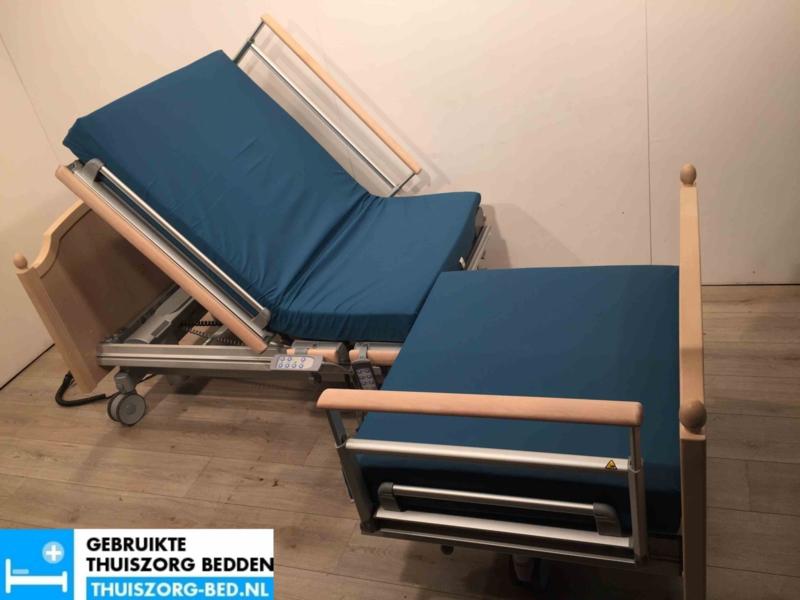 VOLKER 3082 VIS-A-VIS #31 ELEKTRISCH HOOG LAAG THUISZORG-BED MET ZITFUNCTIE