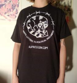 Soli shirt russische antifascisten (Zwart)