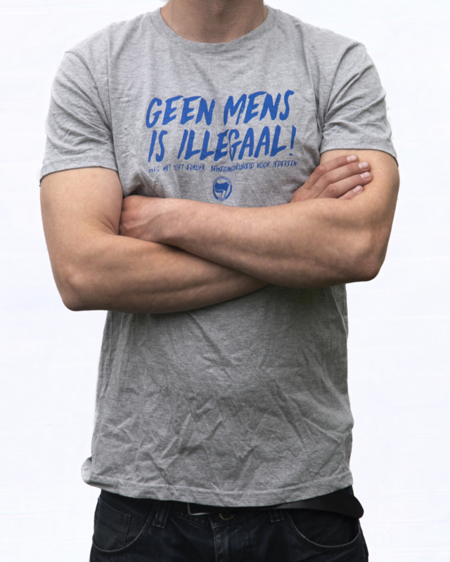 Geen Mens Is Illegaal T-shirt