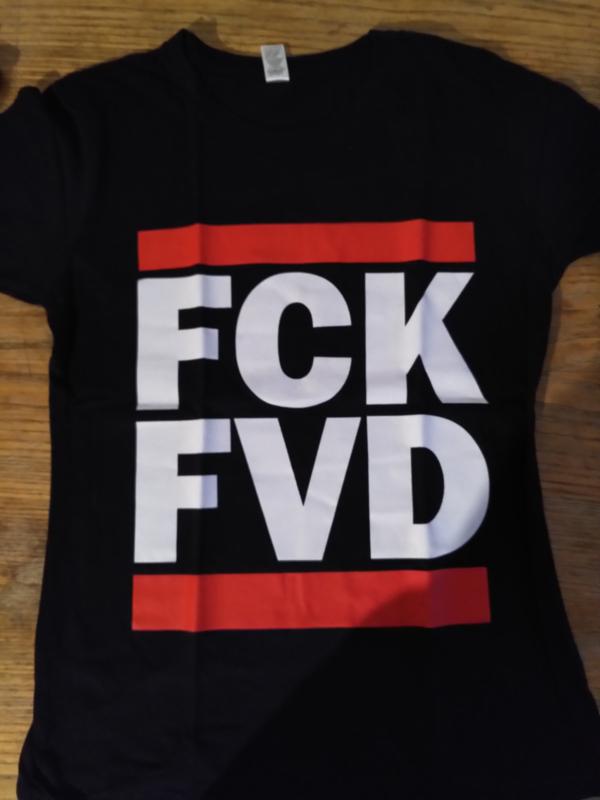 FCK FVD shirts (getailleerd)