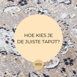 Hoe kies je de juiste tapijt?