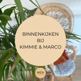 Binnenkijken bij Kimmie & Marco