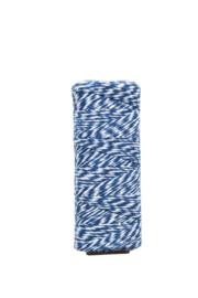 Twine touw | Bakkerstouw | blauw/wit
