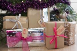 Kerst labels | Merry Christmas | groen