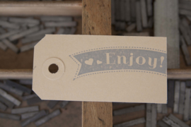 Labels | Enjoy | zilver
